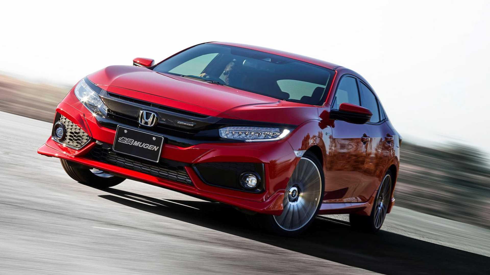 honda-civic-hatchback-mugen-red---front-on-road