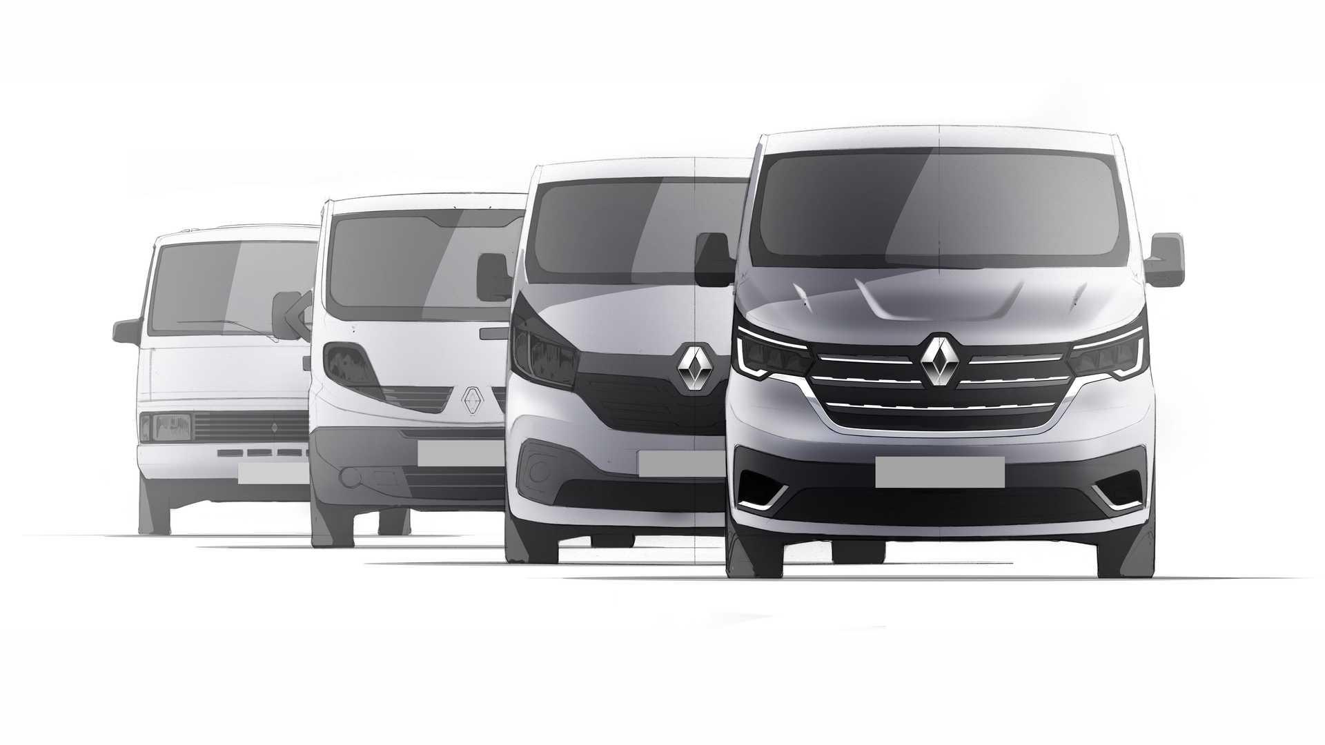 2020-renault-trafic-facelift-sketch