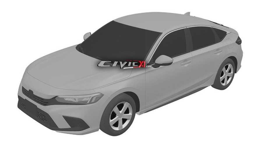 honda-civic-11th-generation-design-trademark-front-three-quarters